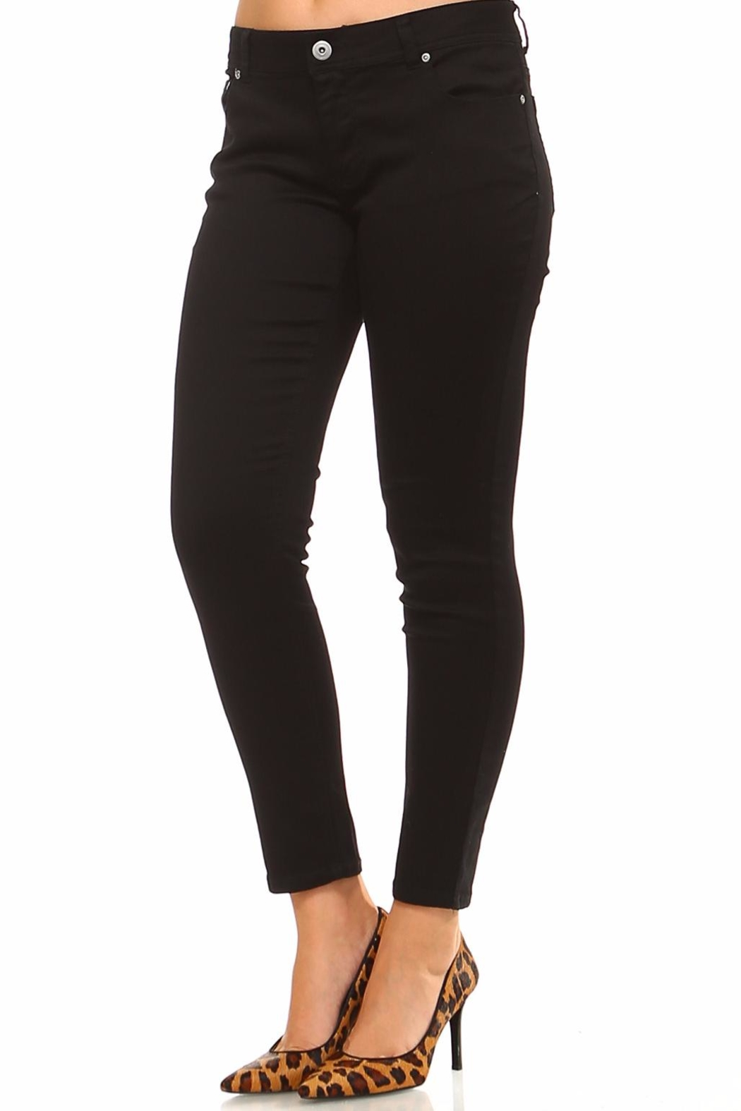 Baccini Ankle Stretch Pants - Front Full Image