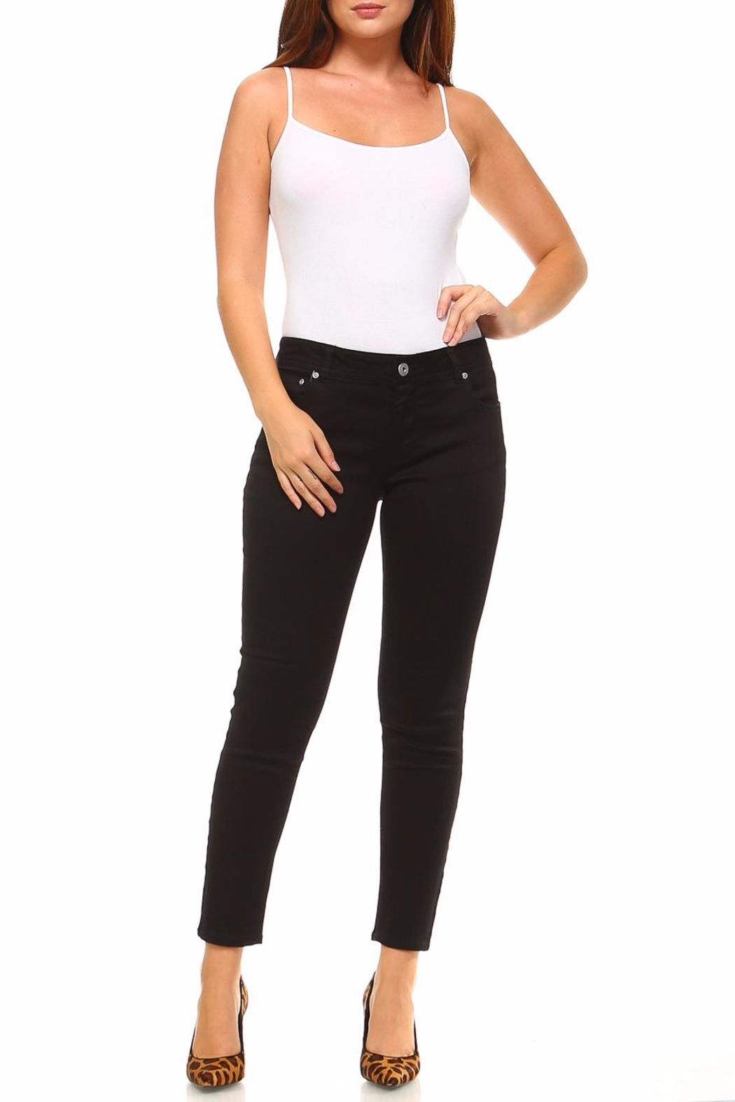 Baccini Ankle Stretch Pants - Back Cropped Image
