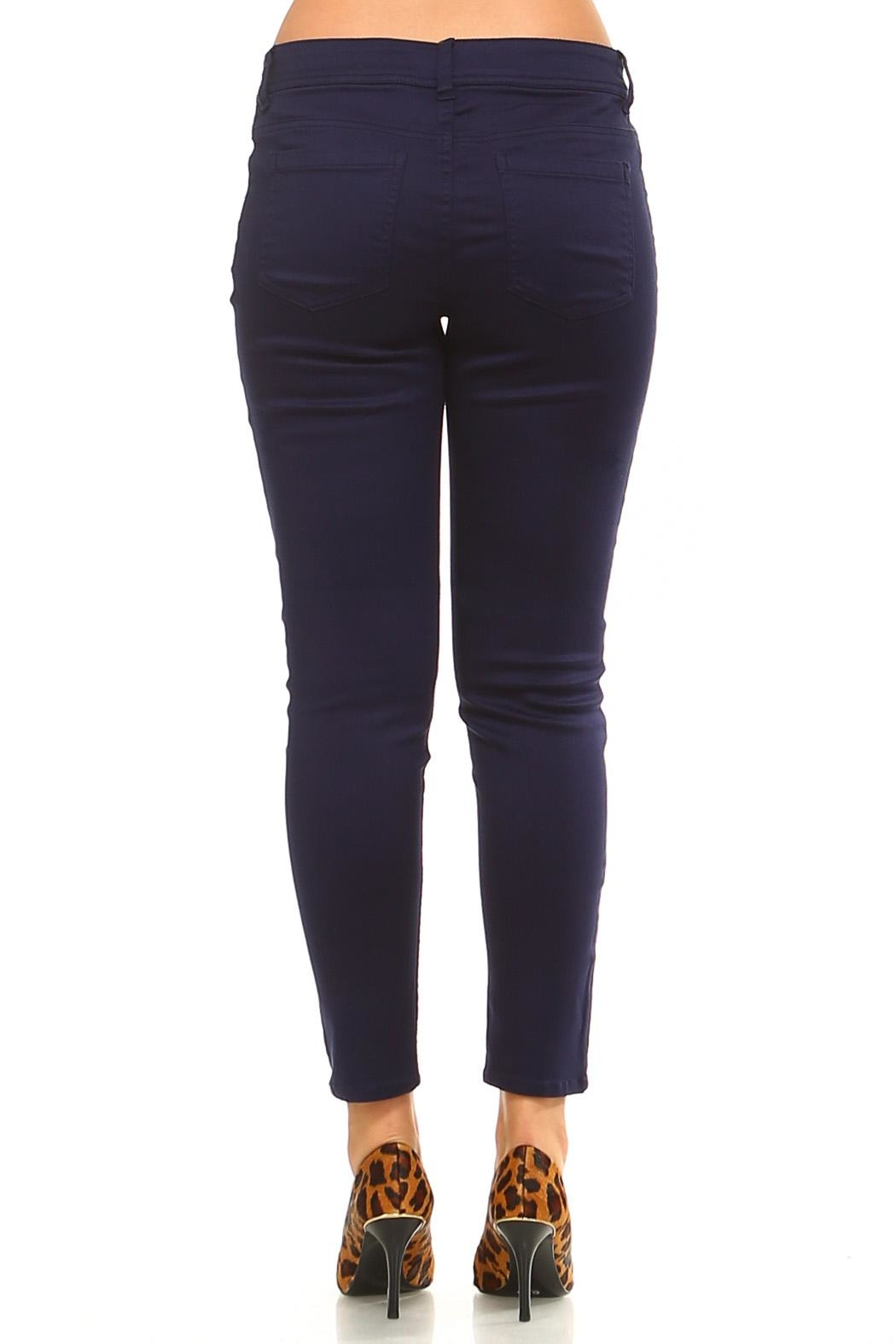 Baccini Ankle Stretch Pants - Side Cropped Image