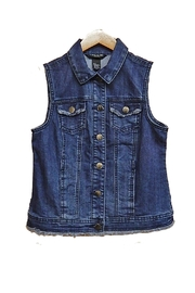 Baccini Indigo Denim Vest - Product Mini Image