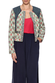 Baccini Soft Cropped Jacket - Front cropped