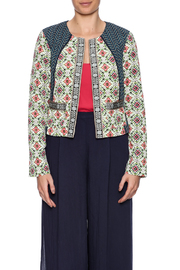 Baccini Soft Cropped Jacket - Side cropped