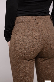Baci Animal Print Pants - Front full body