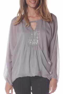 Baci Cleo Sequin Blouse - Product List Image