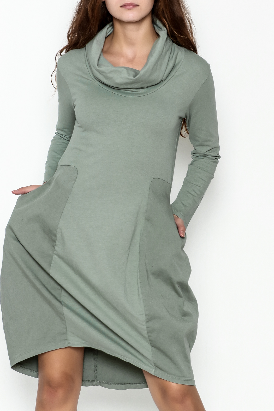 Baci Cowl Neck Dress - Main Image