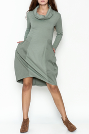 Baci Cowl Neck Dress - Side cropped