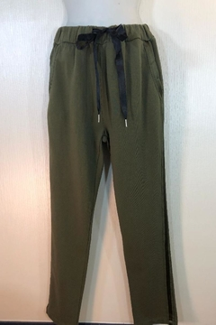 Baci Olive Athletic Pants - Product List Image