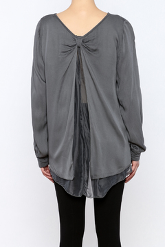 Shoptiques Product: Steel Gray Top