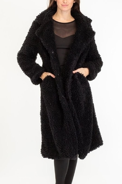 Baciano Black Teddybear Jacket - Alternate List Image