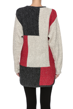 Shoptiques Product: Color Block Sweater Tunic