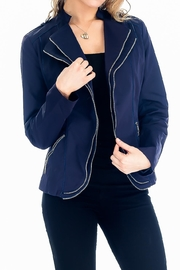 Baciano Haylee Zipper Jacket - Product Mini Image