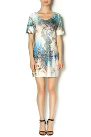 Baciano Paisley and Abstract Print - Front full body