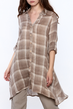 Shoptiques Product: Plaid Fun Tunic