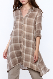 Baciano Plaid Fun Tunic - Product Mini Image