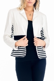 Baciano Aubree Striped Jacket - Product Mini Image
