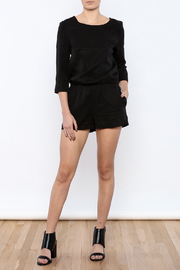 Shoptiques Product: 3/4 Sleeve Romper - Front full body
