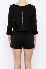 Shoptiques Product: 3/4 Sleeve Romper - Back cropped