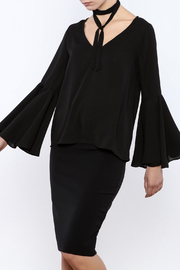 Bacio Bell Sleeve Top - Product Mini Image