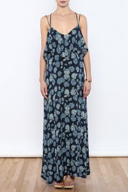 Shoptiques Product: Blue Maxi Dress - Front cropped