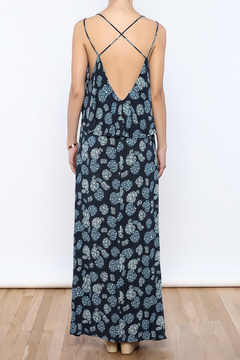 Bacio Blue Maxi Dress - Alternate List Image