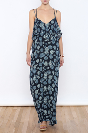 Shoptiques Product: Blue Maxi Dress - Front full body