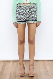 Bacio Printed Shorts - Side cropped