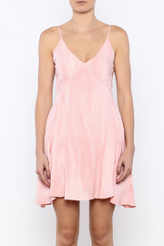 Bacio Blush Flared Dress - Side cropped
