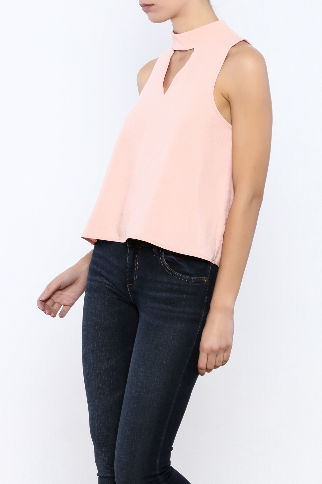 Bacio Blush Top - Front Cropped Image