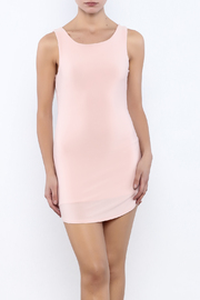 Bacio Blush V-Back Dress - Product Mini Image