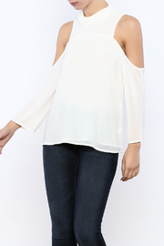 Bacio Cold Shoulder Top - Front cropped