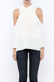 Bacio Cold Shoulder Top - Side cropped