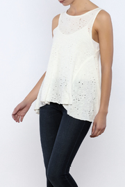 Bacio Distressed Top - Product Mini Image