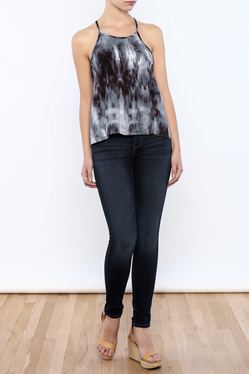 Bacio Dyed Top - Front Full Image