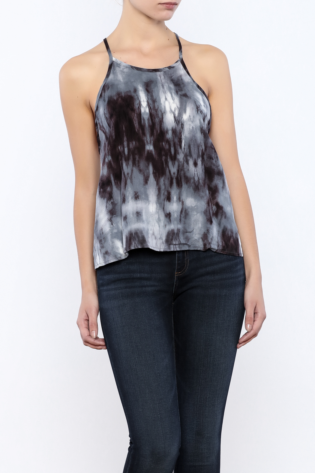 Bacio Dyed Top - Front Cropped Image