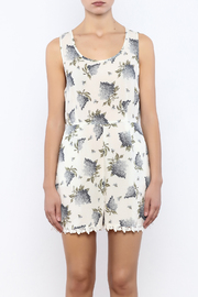 Bacio Floral Printed Romper - Side cropped