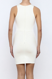 Bacio Front Cut Out Dress - Back cropped