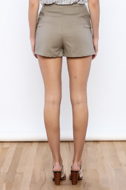 Shoptiques Product: High Waisted Shorts - Back cropped