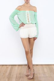 Shoptiques Product: Woven Shorts - Front full body