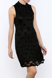 Bacio Lace High Neck Dress - Product Mini Image