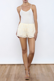 Bacio Lace Shorts - Front full body