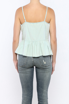 Bacio Light Denim Top - Alternate List Image