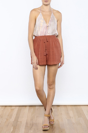 Shoptiques Product: Marsala Shorts - Front full body