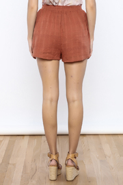 Shoptiques Product: Marsala Shorts - Back cropped
