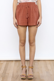 Shoptiques Product: Marsala Shorts - Side cropped