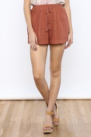 Shoptiques Product: Marsala Shorts - Front cropped