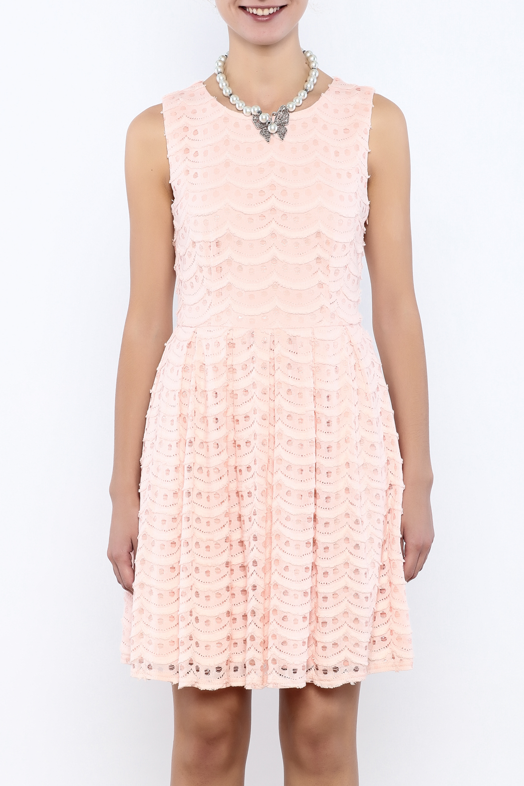 Bacio Pastel Dress - Side Cropped Image
