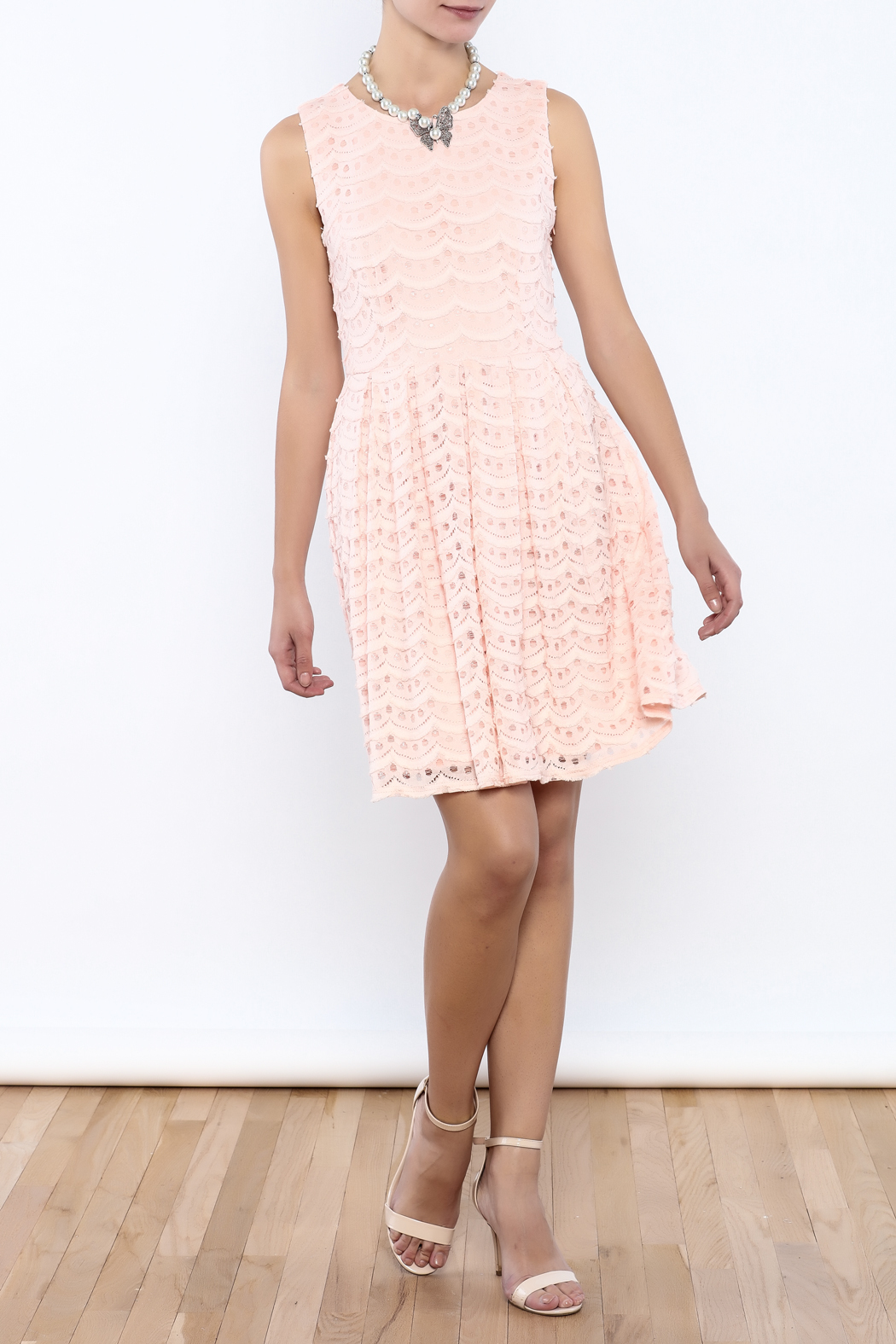 Bacio Pastel Dress - Front Full Image