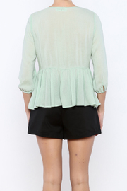 Shoptiques Product: Peasant Top - Back cropped