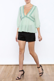 Shoptiques Product: Peasant Top - Front full body
