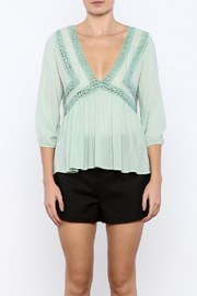 Shoptiques Product: Peasant Top - Side cropped